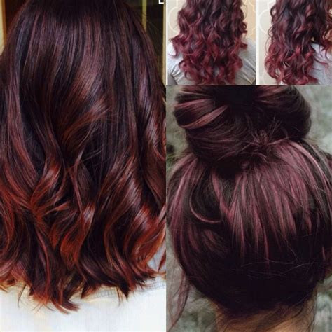 cherry hair color best 25 cherry hair ideas on cherry