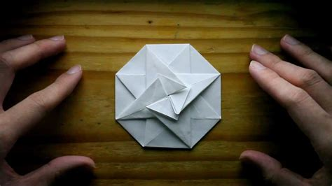 How To Make A Paper Octagon - origami octagonal pouch