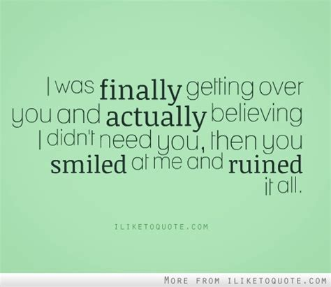 Over Someone Quotes Sayings Over Someone Picture Quotes - finally getting over someone quotes quotesgram