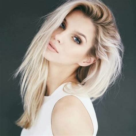 creating roots on blonde hair best 25 platinum blonde ideas on pinterest
