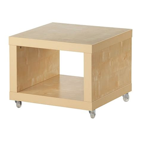 ikea lack tables lack side table on casters birch effect ikea