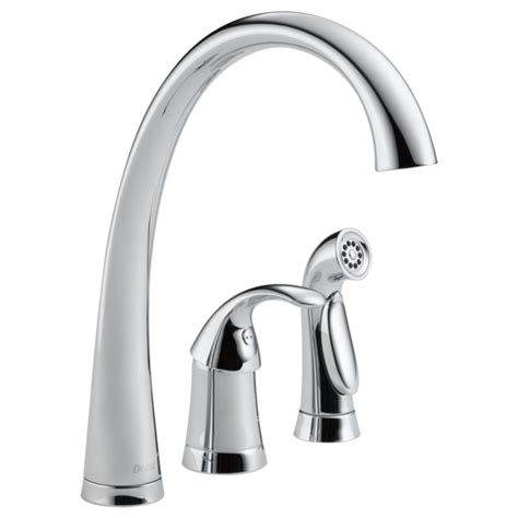 4380 dst single handle kitchen faucet with spray