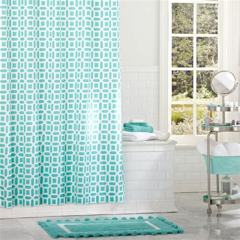 teal bathroom curtains curtain interesting teal shower curtain teal shower