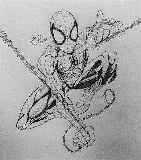 imagenes de spiderman para dibujar a lapiz dibujo de ultimate spider man a l 193 piz c 243 mics amino