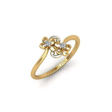 Ring Design by Designer Gold Name Ring