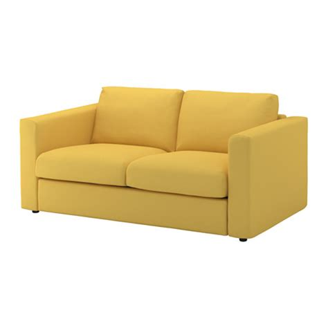 Sofa Colours by Vimle 2 Seat Sofa Orrsta Golden Yellow