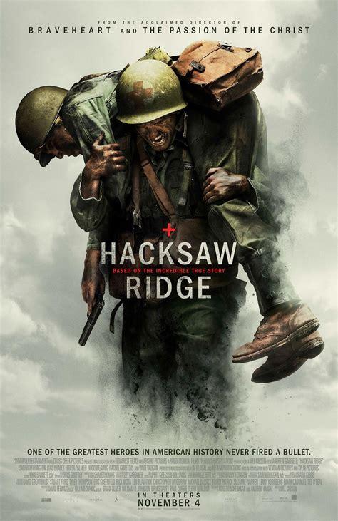 hacksaw ridge 2016 hacksaw ridge 2016 poster 2 trailer addict