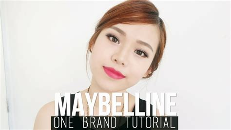 tutorial makeup flawless indonesia maybelline one brand tutorial review special occasion