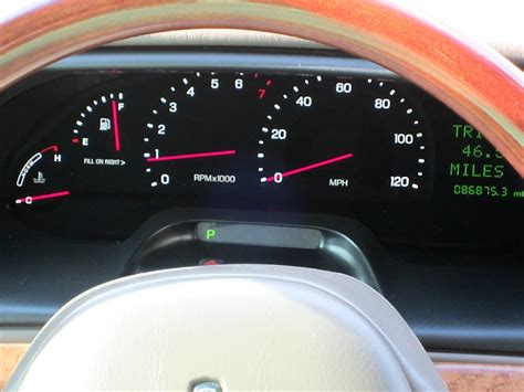 best auto repair manual 1997 lincoln continental instrument cluster easy gauge mod lincoln vs cadillac forums