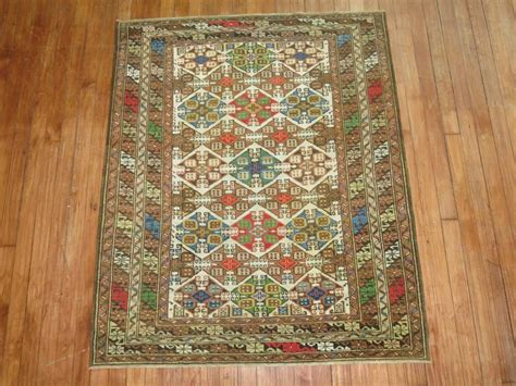Colorful Area Rugs For Sale by Colorful Antique Caucasian Rug For Sale At 1stdibs