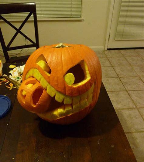 pumpkins carving  decor ideas  halloween home