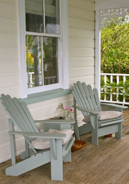 loving  relaxing blue chairs porch furniture