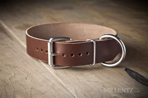 large leather collars leather collar large mr lentz leather goods