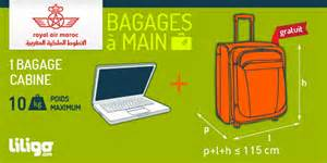 bagages cabine volotea