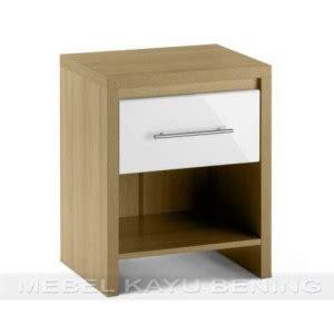 Nakas Laci Jati Ukiran Jepara Furniture Bufet Lemari Cabinet nakas kayu jati model minimalis camelia 1 laci mebel