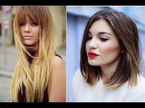 tendencias 2016 en peluqueria corte y color youtube tendencias cabello 2016 cortes de pelo bob rizos melena