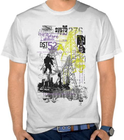 Kaos Civil Engineer jual kaos district 52 casual satubaju