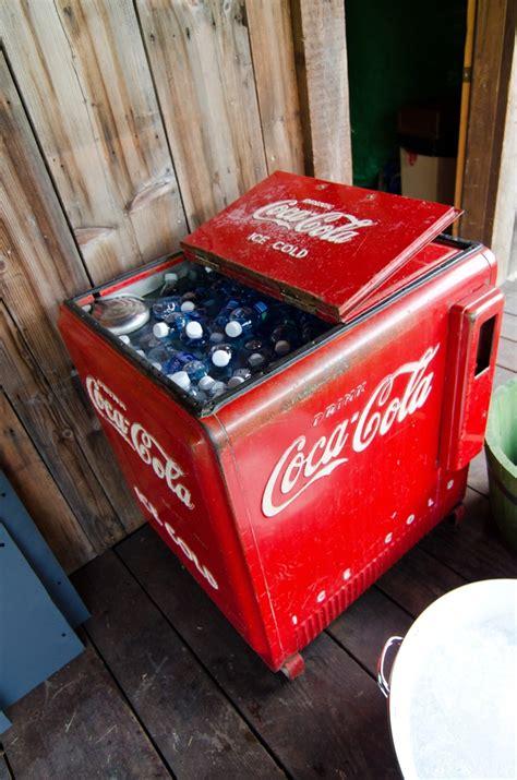 Freezer Coca Cola antique coca cola fridge steven would if we had