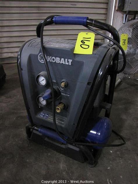 west auctions auction court ordered auction of studios inc item kobalt 2 gallon