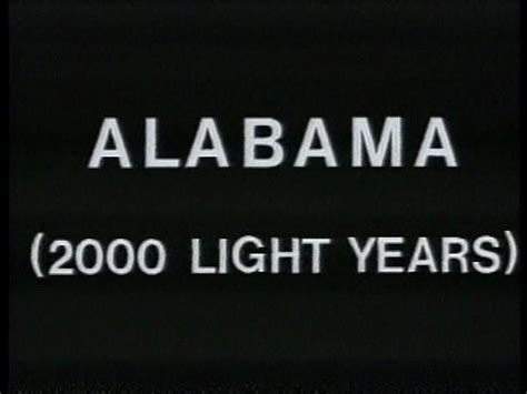alabama 2000 light years from home 1969