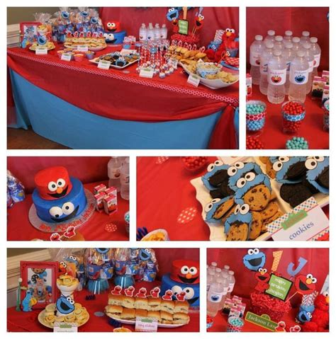 elmo cookie birthday ideas