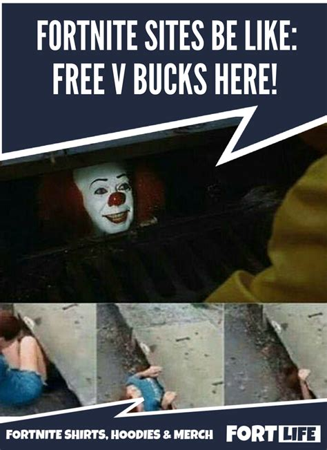 fortnite v bucks free fortnite memes v bucks scam fortnite shirts memes