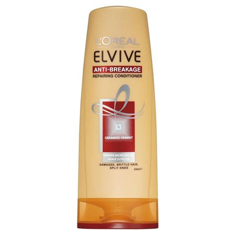 Conditioner Loreal l oreal elvive anti breakage conditioner 250ml chemist warehouse