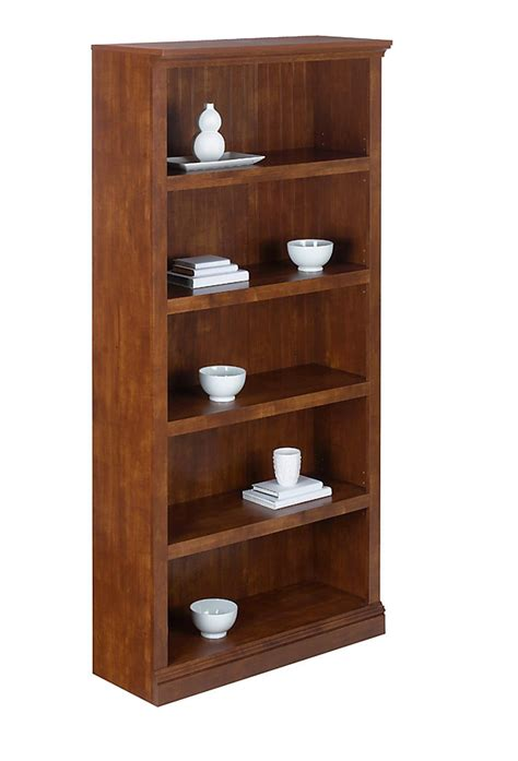 58 inch wide bookcase realspace premium outlet wide bookcase 5 shelf 72 1 8 h