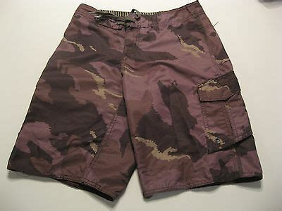youth boys quiksilver board shorts   reto camo beach