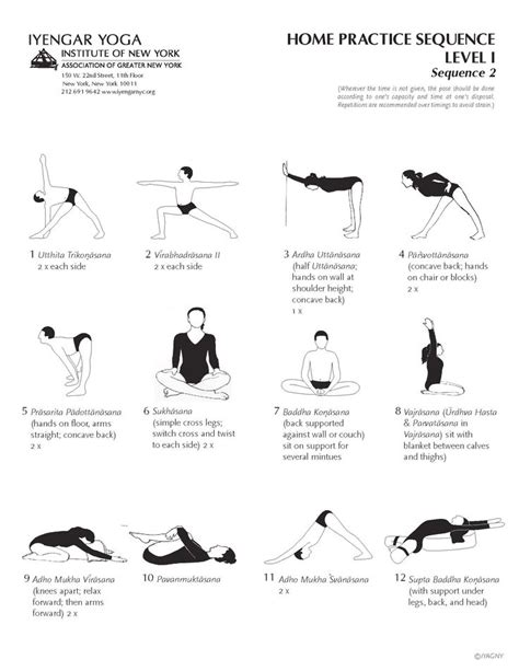 the of fifty sequences for your home and studio practice books 1000 ideas about iyengar on bks iyengar