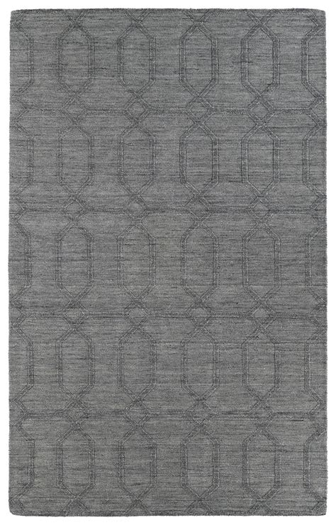 Modern Grey Rug Kaleen Imprints Modern Ipm03 75 Grey Rug