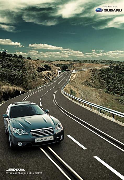 Subaru Ad Agency by Subaru Quot Subaru Outback Slot Track Quot Print Ad By Ade Bogota