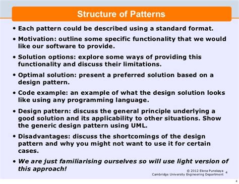 design pattern in software engineering lecture 5 software engineering and design design patterns