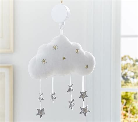 Pottery Barn Crib Mobile by Cloud Crib Mobile Pottery Barn