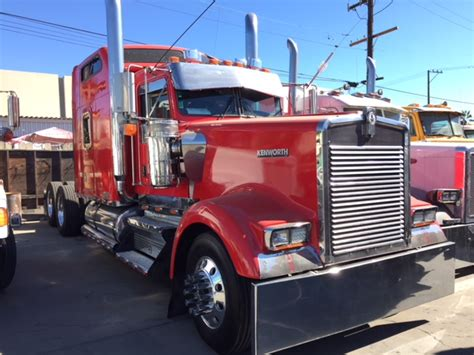 kenworth studio sleeper sofa emission compliant 2005 kenworth w900 studio sleeper