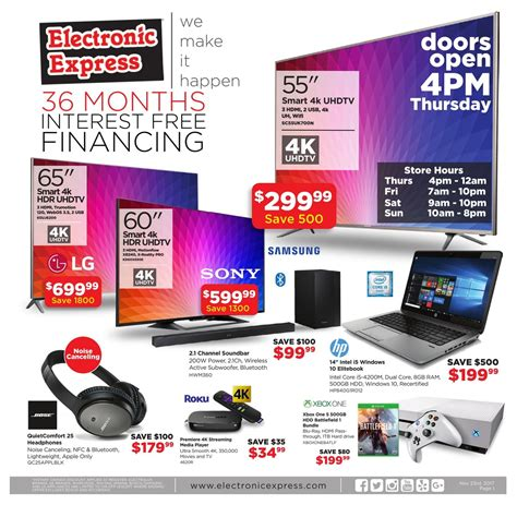 electronic express black friday ad