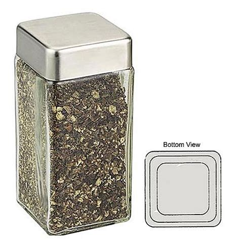 Square Spice Containers 1000 Ideas About Spice Jars On Glass Spice