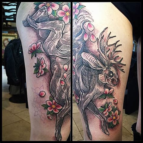 jackalope tattoo jackalope by gustavo razo remington shop