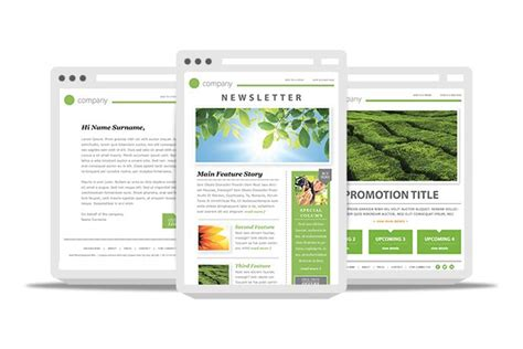 10 Awesome Responsive Email Templates For Newsletters Narga Outlook Email Blast Templates