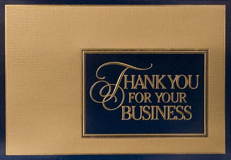 6 best images of printable thank you for your business
