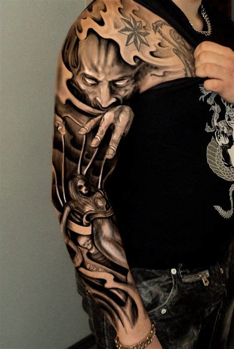 dark sleeve tattoo designs sleeve designs best design