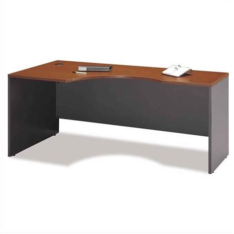Corner Desk Maple Bush Business Series C L Shape Corner Desk Set In Auburn Maple Bsc030 485