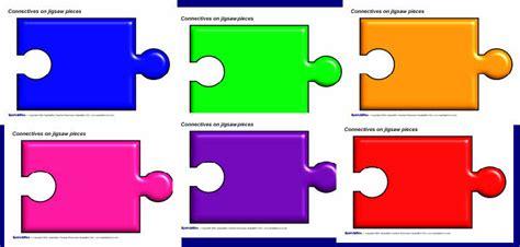 Editable Jigsaw Piece Templates Sb3121 Sparklebox Editable Puzzle Pieces