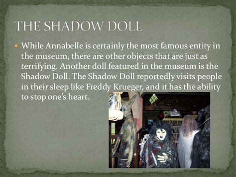 annabelle doll at warrens occult museum the warrens occult museum