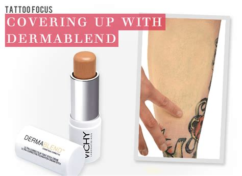 dermablend tattoo cover dermablend cover up escentual s buzz