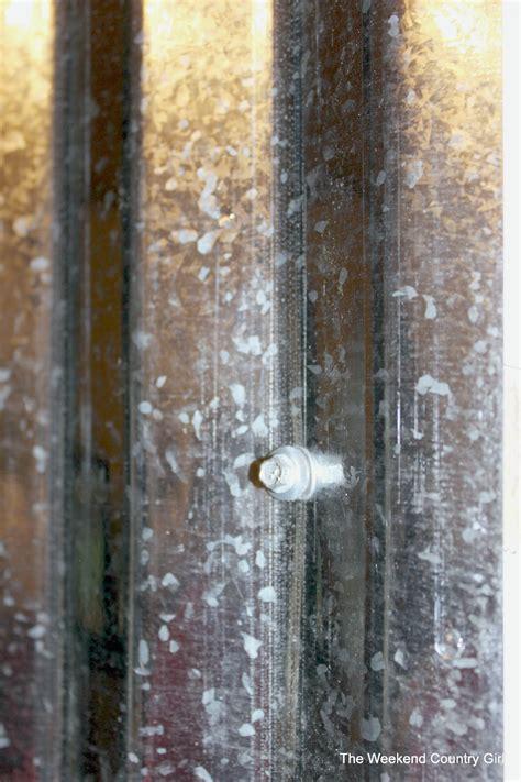 haggetts aluminum on twitter haggetts aluminum remodelaholic diy corrugated tin wall tutorial