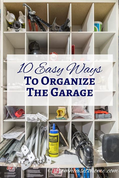 ways to organize your garage 17 best images about garage and basement ideas on