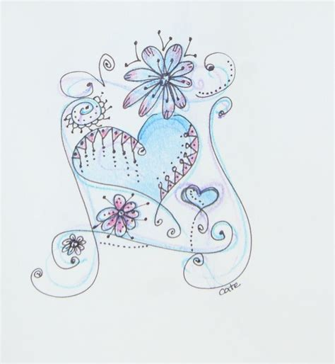 doodle hearts doodle