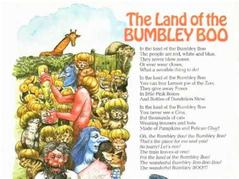 The Land Of the land of the bumbley boo