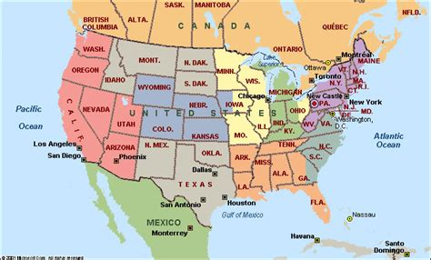 american map america map state map